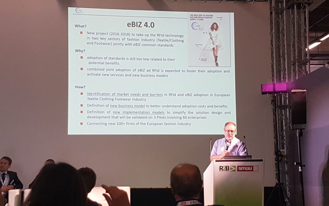 "eBIZ 4.0 project at ""Digitisation in Fashion"" matchmaking event"