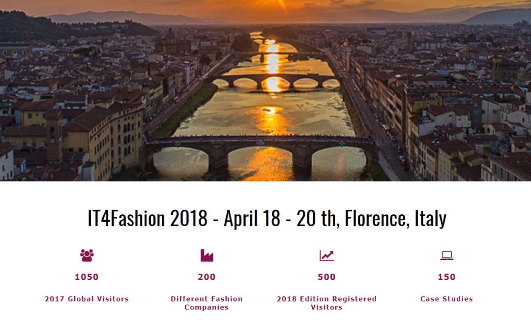 IT4fashion event in Florence: it is time for eBIZ in large fashion brands.
