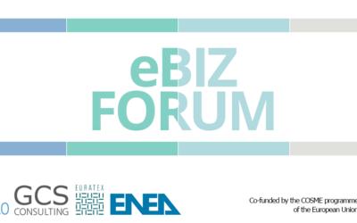 eBIZ Forum: the international conference of the eBIZ 4.0 project