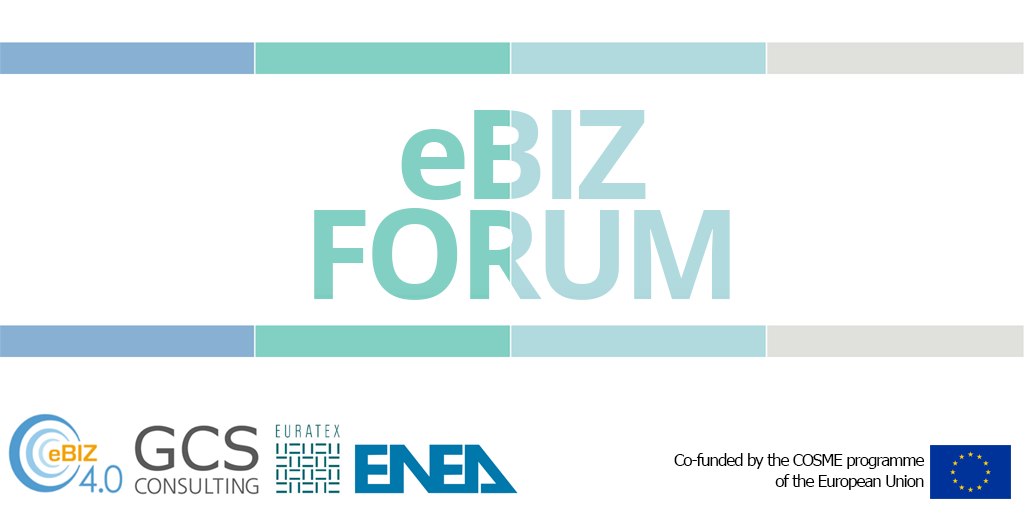 eBIZ Forum: the international conference of the eBIZ 4.0 project